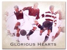 Hearts - Glorious Hearts A3 approx poster print